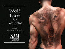 [SAM TATTOOS] WOLF FACE AESTHETIC