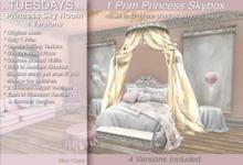 Tuesdays Princess Sky Room - 2 Versions - ALMOST FREEBIE