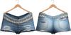 Blueberry - Kiki - Denim Shorts - Bluecute