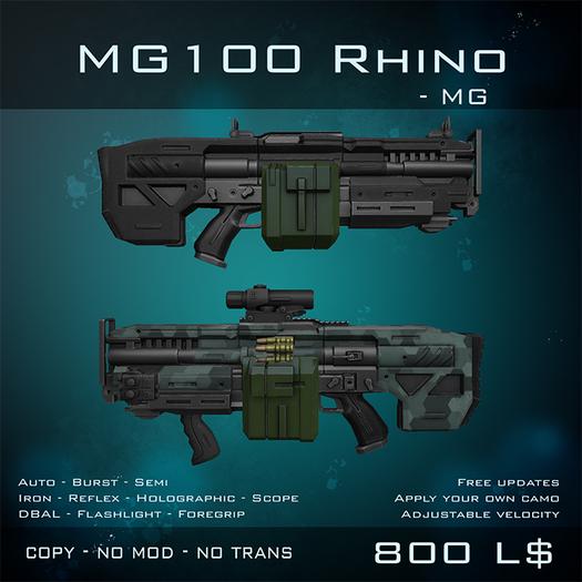 [BW] MG100 Rhino - MG