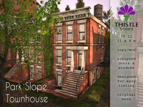 Thistle Homes - Park Slope Townhouse Full Set - Original Mesh