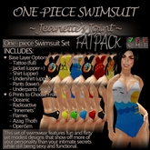 ~JJ~ One-piece Swimsuit (FATpack)