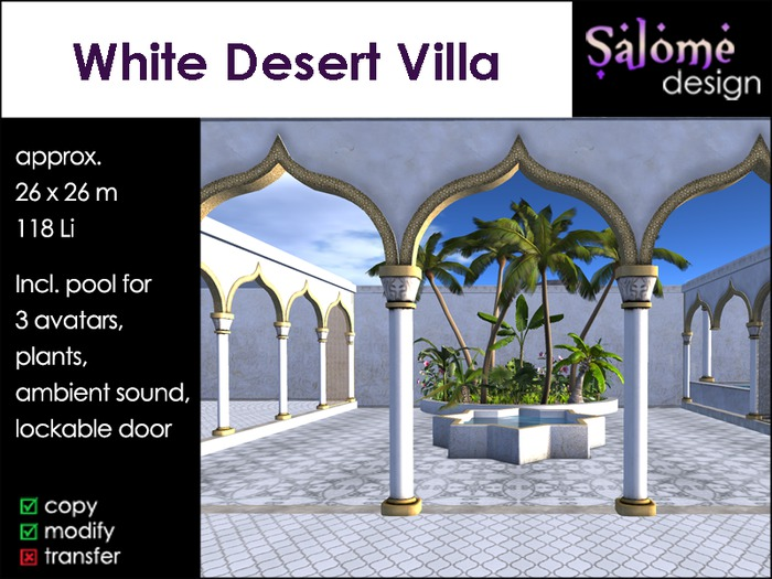 White Desert Villa - 1001 Nights