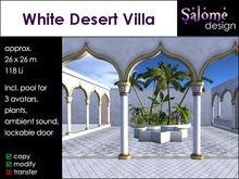 White Desert Villa Sales Box