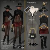4 - YK Fiorella Skirt Red (Wear & Touch)