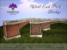 Thistle Homes - West End Park Bridge - original mesh