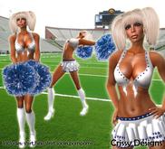 *Derby Cheerleader Costume*-by Crissy Designs