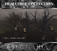 Dead Tree Collection of 7 Trees