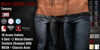 GAS [Men's MESH Jeans Tommy - 10x5x2 Colors with HUD]