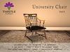 Thistle Homes - University Chair - Dark wood - Angelic PG - original mesh