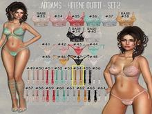 #54 - Addams - Helene Medium Boots - Maitreya
