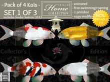 Koi, feedable, Collector Set 1 of 3