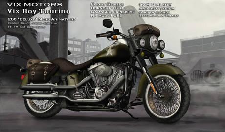 Vix Motors - Vixboy Touring - EVO