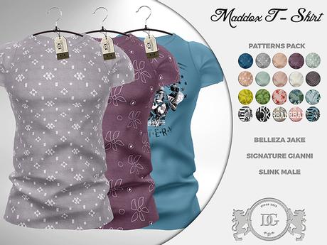 P-R-O-M-O! Daniel Grant - Maddox T-Shirt PATTERNS PACK