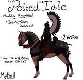 ~Mythril~ WH Riding Horse: Poise Idle Set