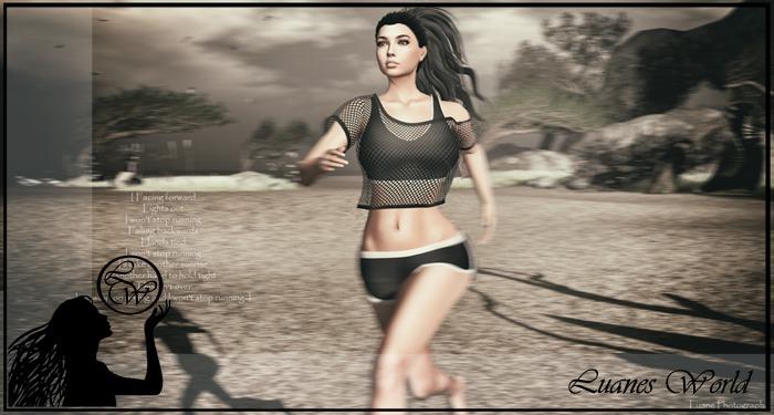 :LW: Poses - I won't stop running - unisex pose