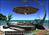 HeadHunter's Island - Tiki Palm Outdoor Bath/pool v1.2 - 131 multianimations - drink givers /lamp /massage table - MESH