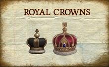 Royal Crown Crowns * Almost Freebie *