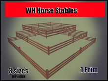 WH Horse Stables  [3 SIZES]