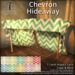 [DDD] Chevron Hideaway - Tex. Change, Sparkly Lights!
