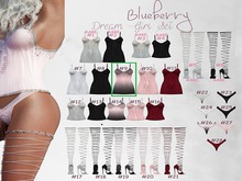 #9 Blueberry - Dream Girl - Dress - Common - Ombre *P*