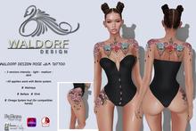Waldorf Design. Rose Jam Tattoo