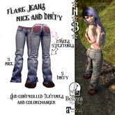 *N*B* Flare Jeans Nice and Dirty