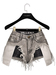 .:villena:. - Distressed Shorts - Gray