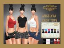 *INTRODUCTORY PRICE* RML ANGELYKA CROP TOPS & HUD