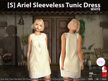 [S] Ariel Sleeveless Tunic Dress Demo