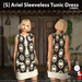 s  ariel sleeveless tunic dress symbol ad