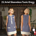 s  ariel sleeveless tunic dress taro ad