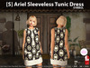 [S] Ariel Sleeveless Tunic Dress Symbol