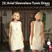 s  ariel sleeveless tunic dress white ad