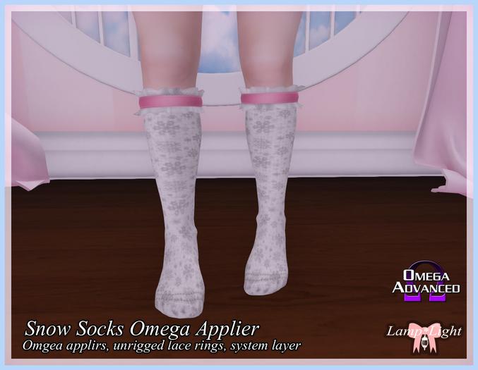 Lamp*Light - Snow Socks Omega Applier