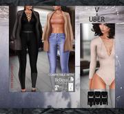 .:villena:. - DEMO Lace Up Front Bodysuit