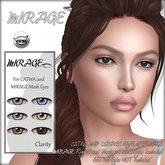 MIRAGE-Mesh Eyes + Mesh Eye Appliers-Clarity