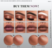 Tres Beau. Essential Highlight+Blush (Rose)