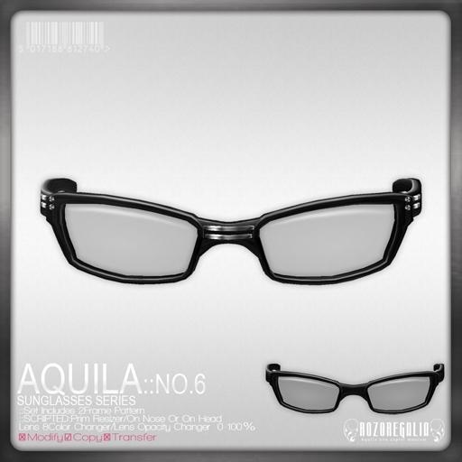 +ROZOREGALIA+*Aquila*Sunglasses No.6
