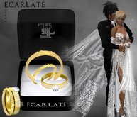 Ecarlate - Engagement Ring + Alliance Women & Men - Gold - Juany