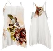 ShuShu CELESTE beach dress Flower - SLink Maitreya Classic Fitmesh Hourglass Physique