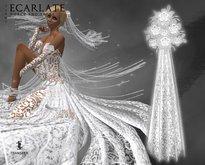 Ecarlate - Bridal bouquet / Bouquet de mariee - Juany