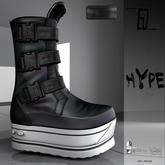E-Clipse Hype Boots Black