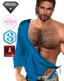 XK Loose Toga Shirt  Aqua