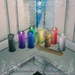 *pm* 7 Day Prayer Candle - Colored Glass Set
