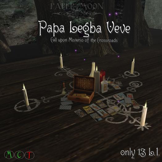 *pm* Papa Legba Veve