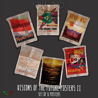 *pm* Visions of the Future Posters II