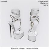 Rayna - High Heels White