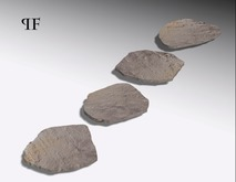 Stepping stones pathway 001