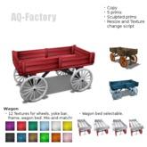 *AQF* Painted Wagon